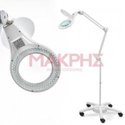 SM 0175 Μεγεθυντικός Φακός Τροχήλατος LED