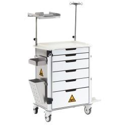 SMT-350 MRI Τροχήλατο Α' Βοηθειών Αντιμαγνητικό