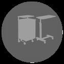 Κομοδίνα-Τραπεζοτουαλέτες